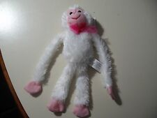 "12"" plush Monkey doll with velcro hands, good condition"