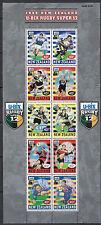 NEW ZEALAND :1999 Rugby Super 12 sheetlet SG2248a MNH