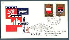 SAN MARINO - 1974 - X° Torneo della balestra su FDC Venetia