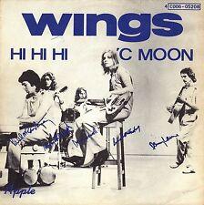 """7"""" Paul McCartney (Wings / Beatles) – Hi Hi Hi // Belgium 1972"""