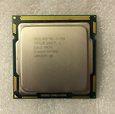 CPU INTEL i5 750 LGA1156 2.66Ghz 4 core processore