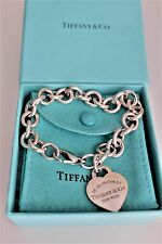 Return to Tiffany Heart Tag Charm Bracelet jewelry genuine (sterling silver)