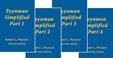 FEYNMAN  LECTURES SIMPLIFIED Book Series, Volumes 1-4, by Robert Piccioni PhD