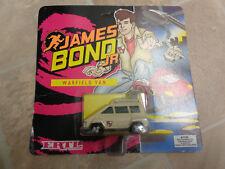 Ertl James Bond Jr vehicles Warfield flying van Mint on sealed backing card