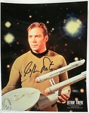 "William Shatner as Capt. Kirk Autographed 8""X10"" Photo Star Trek Original Series"