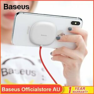 Baseus Qi Wireless Charger Suction Cup Charging Pad Receiver for iPhone Samsung