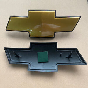 OEM For Chevy Avalanche Suburban Tahoe Grille Emblem Front Grill Gold Badge Logo