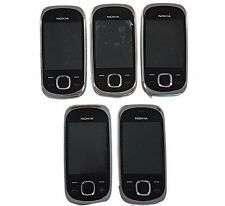5 Lot Nokia 7230 Slide Cellphone Locked Telcel GSM 70MB Camera Color Screen Used