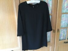 H&M Dress Size 8/10 In Black With Long Sleeves Worn Once So Great Condition.