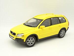 Majorette / Dickie - Plastique SB 1/18 - Volvo XC90 Jaune