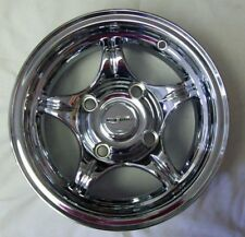 set 2 Chrome Plate  Rims 12X7 4x115 Bolt Hole Pattern With Lugnuts NEW 12XL319