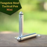 MIni Self Defense Tactical Military Pen Glass Breaker- Aviation Tungsten Steel