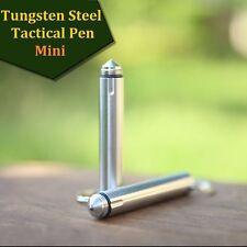 MIni Self Defense Tactical Military Pen Glass Breaker- Aviation Tungsten Steel
