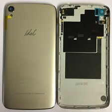 Alcatel One Touch Idol 6045K Gold Battery Back Cover Rear Shell