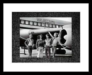 Led Zeppelin 8x10 Photo Picture Print AIRPLANE RARE Rock Band Robert Plant Music