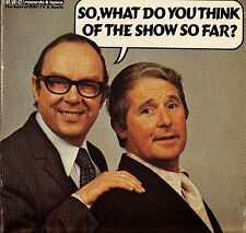 MORECAMBE AND WISE so what do you think of the show so far REB 210 LP PS EX/EX