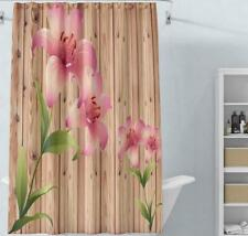 Shower Curtain Bathroom Bathtub Shower Cover Liner Flower Painting Home Decor