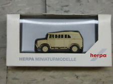Roco Minitanks / Herpa WWII German Horsch Type 40 Closed Carrier Truck Lot #3451