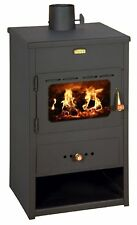 Wood Burning Stove Fireplace Log Burner 9kw Solid Fuel Prity K1 FREE GIFT incl