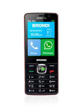 Brondi Energy 4G Rosso Telefono Cellulare Dual Sim 4G con Display a Colori