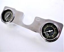 Twin Gauge Holder for VW Beetle Aluminium Gauge Holder for 52mm 1958-67 AAC223