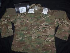 MULTICAM COAT COMBAT X LARGE-REGULAR NWT American Ap USA MILITARY ACU CAMO SHIRT