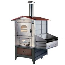 Forno a legna Gemignani a fuoco indiretto da esterno mod. G100 Barbecue