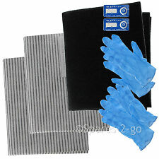 Cooker Hood Filter Kit for BELLING Extractor Vent Fan Grease Carbon Filters