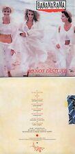CD Single Bananarama DO NOT DISTURB  8-TRACK CARD SLEEVE   REMIXES