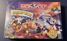 New 1999 Limited Collector Ed. Monopoly Looney Tunes Factory Sealed, Near Mint!