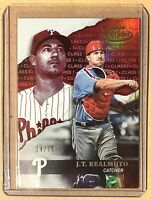2020 Topps Gold Label Class 1 J.T. Realmuto Red Parallel 14/75 Phillies