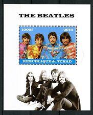 Chad 2016 CTO los Beatles John Lennon Paul Mccartney sellos de música 1v m/s