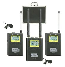 Professional Wireless Video Recording Microphone WM-10-100 Channels UHF