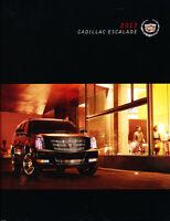 2013 Cadillac Escalade 50-page Car Sales Brochure - Hybrid ESV EXT Platinum