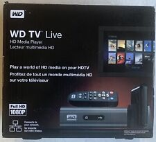 New Western Digital WD TV Live Full HD Media Player WDBAAN0000NBK-NESN