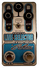 MINI PASSIVE LINE SELECTOR ABY GUITAR AMP SELECTOR SWITCHER Pedal - FREE P&P