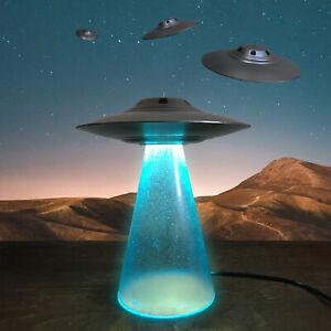 UFO LED Lamp Area 51 Sport Model, Alien Abduction Flying Saucer Lamp