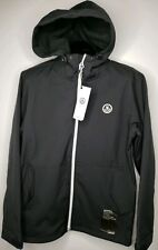 Neff Softshell Black 5k Waterproof Hooded Zipped Men's Jacket Size Medium