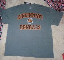 NEW NFL Cincinnati Bengals Football T Shirt Men 2XL XXL Majestic NEW NWT