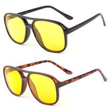 Sport Aviator Hd Night Driving Vision Sunglasses Yellow High Definition Glasses
