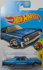 2017 Hot Wheels HW ART CARS 2/10 '64 Lincoln Continental 15/365 (Blue Version)