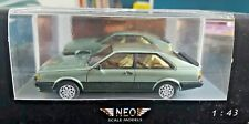Audi Coupe GT vert 1981 - 1/43 - NEO SCALE MODELS N° 43376