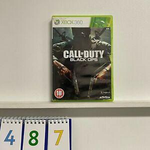 Call of Duty Black Ops COD Xbox 360 game PAL oz487