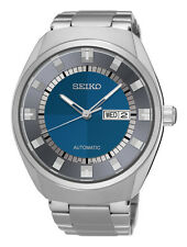 Seiko SNKN73 Men's Recraft Series Stainless Steel Blue Dial Automatic Watch