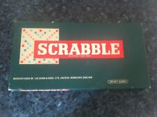 VINTAGE SCRABBLE BOARD GAME BY SPEARS