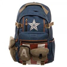 New Avengers League 4 Captain America Backpack Schoolbag Men Laptop Bag