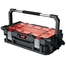 Keter Roc Pro Series Organiser Box Tool Case Attachment Cantilever Compartment