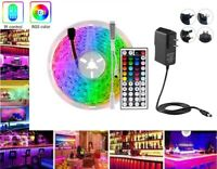 RGB LED Strip Lights with Remote 16.4FT Fairy Rooms TV Bars Light Color Changing
