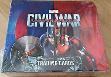CAPITAN AMERICA Civil War Panini BOX 24 booster (144 cards)
