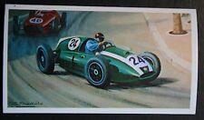 Monaco Grand Prix  1959      Cooper  Jack Brabham    Unmounted Card # VGC